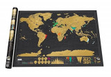 Harta Razuibila , Ideal Cadou Pentru Pasionatii de Calatorii