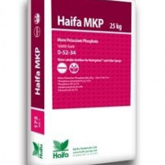 Ingrasamant foliar, solubil in apa MKP 0-52-34 sac 25kg