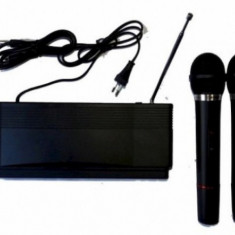 Set 2 microfoane cu receiver Herostar