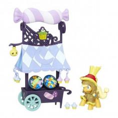 Jucarie My little pony Carucior cu dulciuri Sweet Cart AppleJack B7808 Hasbro