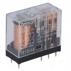 OMRON G2R-2 24VDC - Releu: electromagnetic DPDT Ubobină:24VDC 5A/250VAC 5A/30VDC