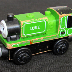 Thomas and Friends ✯ Wooden Railway ✯ LUKE ✯ Magnetic Train ✯ 2012 - Trenulet, Locomotive
