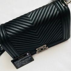 Geanta Chanel - Geanta Dama Chanel, Culoare: Negru, Marime: Mica