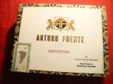 Cutie pt. Trabucuri Arturo Fuente -R.Dominicana,lemn ,dim.=23,3x18x4,3cm