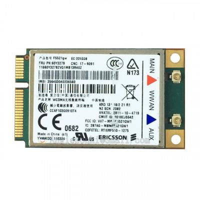 Modul Laptop Ericsson IBM Lenovo F5521GW Gobi3000 Mini PCI-e 3G WWAN Card GPS foto