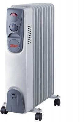 Calorifer electric ZILAN ZLN-2111, 9 elementi, Putere 2000 W, 3 trepte de putere, Termostat de siguranta, Termostat reglabil foto