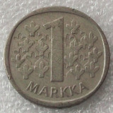 P2. Finlanda 1 Markka Marca 1972 **, Europa
