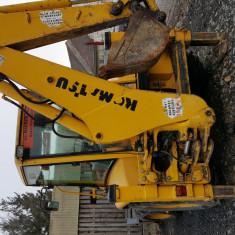 Buldoexcavator KOMATSU WB