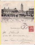 Baia Mare - clasica 1900 ,rara, Circulata, Printata