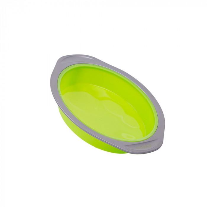 Forma tort rotunda din silicon, peterhof, 21 x 4 cm, PH 12852 foto mare