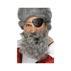 Barba Pirat gri - Carnaval24