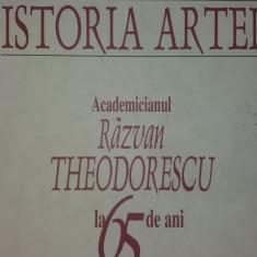 RAZVAN THEODORESCU - ARTA ISTORIEI - ISTORIA ARTEI