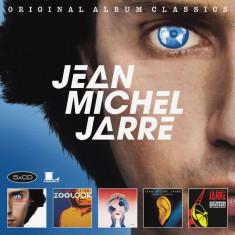 Jean Michel Jarre Original Album Classics Boxset digi (5cd) - Muzica Ambientala