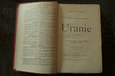 Uranie  de Camille Flammarion  Ed. Ernest Flammarion 1922 foto