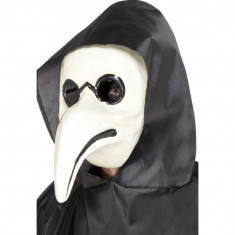 Masca Doctor Ciuma Alb - Carnaval24