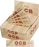 Foite OCB ORGANIC PAPER KING SIZE SLIM 110mm
