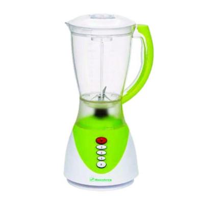 Blender cu bol 1.5 l, 3 viteze, 300 w, hausberg, verde foto
