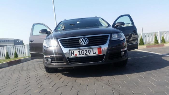 VW PASSAT KOMBY, 2008, 2.0 TDI, 170CP - SUPERB!!! foto mare