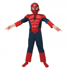 Costum Ultimate Spiderman Deluxe copii 7-8 ani - Carnaval24