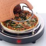 Cuptor electric pizza cu bolta ceramica marca AFK, 1000 W