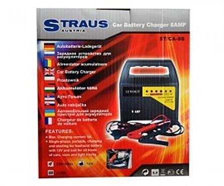 Redresor pentru baterii auto Straus ST/CA 8B Practic HomeWork foto mare