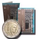 SAN MARINO  2017 2 Euro comemorativ - 750 ani – nasterea lui Giotto – / Folder, Europa