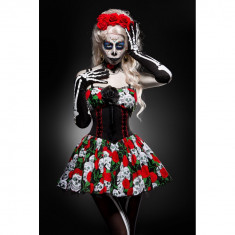 Costumatie Day of the Dead S - Carnaval24