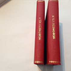 Marin Preda, Morometii 2 vol, r12 - Carte Editie princeps