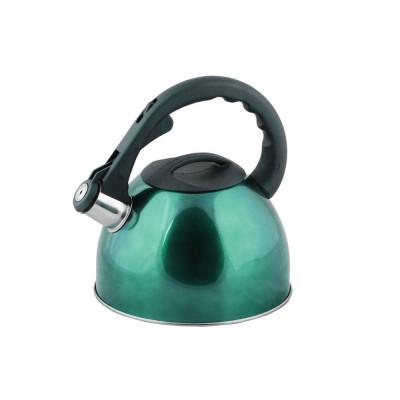 Ceainic din inox 2.5l, peterhof, verde foto