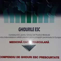 GHIDURILE ESC - MEDICINA CARDIOVASCULARA - COMPENDIU DE GHIDURI ESC PRESCURTATE