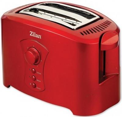 Prajitor de Paine ZILAN ZLN-8310, 750W, negru/rosu, 7 nivele de rumenire foto