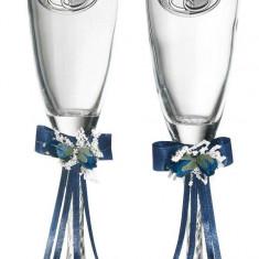 Set 2 pahare sampanie aniversare casatorie Valenti, Cod Produs:2226 - Figurina/statueta