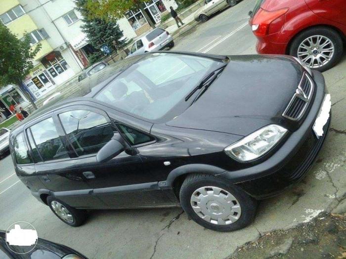 Opel Zafira 2001 Euro 4 Motor 1.8 foto mare