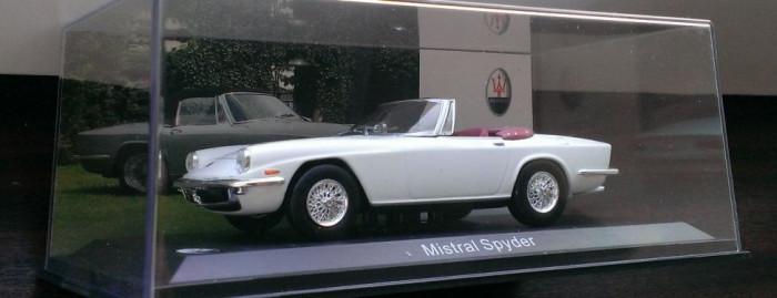 Macheta metal - Maserati Mistral Spyder -NOUA, Whitebox 1:43 (White Box) foto mare