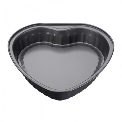 Tava pentru copt teflonata forma Inima 26.9x27.6x5cm Peterhof foto