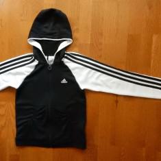 Hanorac Adidas; marime 11-12 ani, vezi dimensiuni exacte; impecabil, Marime: Alta, Culoare: Din imagine