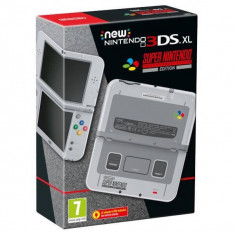 Consola Nintendo NEW 3DS XL Snes Limited Edition, Nintendo 3 DS