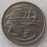 P2. Australia 20 Cents 1980 **, Australia si Oceania