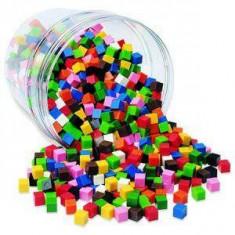 Cuburi multicolore - Set de constructie