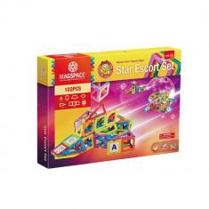 Joc Magnetic Star Escort Set 102 piese Mumu Toys - Instrumente muzicale copii