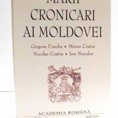 MARII CRONICARI AI MOLDOVEI, 2003