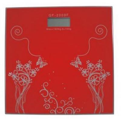 Cantar digital Hausberg, 150 kg, LCD, rosu foto