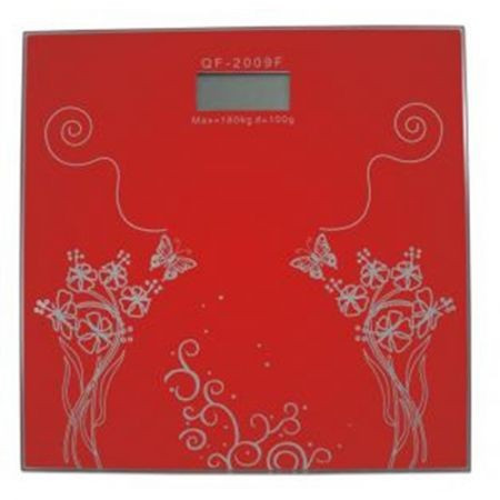 Cantar digital Hausberg, 150 kg, LCD, rosu foto mare