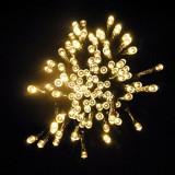 200 LED Instalatie de interior de lumini  20M cu cablu transparent (NozaTec)