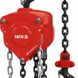 Scripete cu lant 500 kg YATO