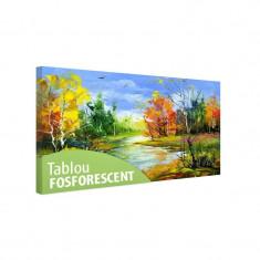 Tablou fosforescent Toamna timpurie - Tablou canvas