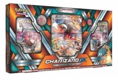 Set Charizard-Gx Premium Collection Pokemon Tcg foto