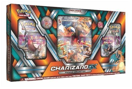 Set Charizard-Gx Premium Collection Pokemon Tcg foto mare