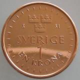 SUEDIA KM#NEW - 1 Krona 2016 UNC, Europa