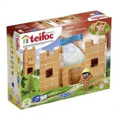 Set De Constructie Din Caramizi - Castel Mic (120 Piese) -Teifoc